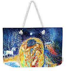 The Homecoming Kiss After Gustav Klimt Weekender Tote Bag