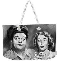 The Honeymooners Weekender Tote Bag