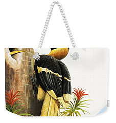 The Hornbill Weekender Tote Bag