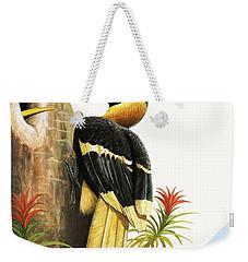 The Hornbill Weekender Tote Bag