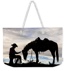 The Horse Whisperer 2013 Weekender Tote Bag by Joan Davis