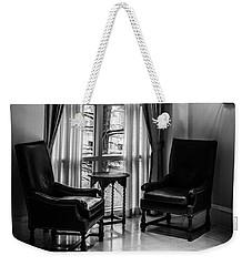 The Hotel Lobby Weekender Tote Bag