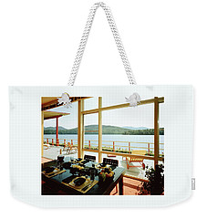 The House Of Mr. And Mrs. Alfred Rose On Lake Weekender Tote Bag