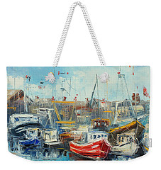 The Howth Harbour Weekender Tote Bag