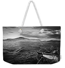 Weekender Tote Bag featuring the photograph The Human Element by Ben Shields