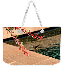 The Hummer And The Red Yucca Weekender Tote Bag