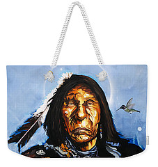 The Hummingbird Shaman Weekender Tote Bag