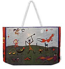 The Hunter Weekender Tote Bag by Mario Perron