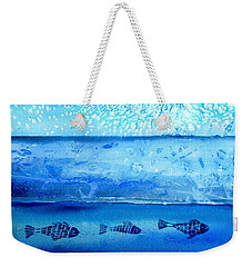The Iceage Cometh No.2 Weekender Tote Bag by Trudi Doyle