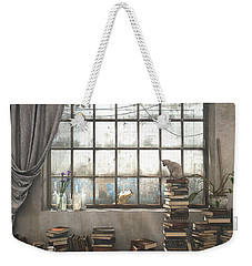 The Introvert Weekender Tote Bag by Cynthia Decker