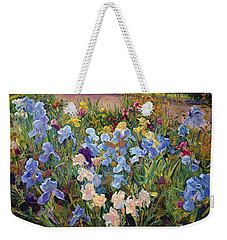 The Iris Bed Weekender Tote Bag