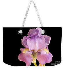 The Iris In All Her Glory Weekender Tote Bag