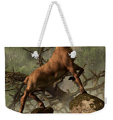 The Irish Elk Weekender Tote Bag