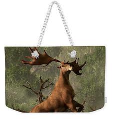 The Irish Elk Weekender Tote Bag