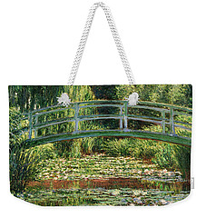 The Japanese Footbridge And The Water Lily Pool Giverny Weekender Tote Bag