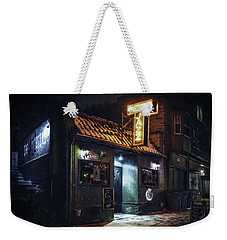 The Jazz Estate Nightclub Weekender Tote Bag