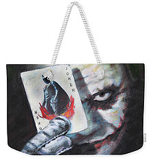 The Joker Heath Ledger  Weekender Tote Bag