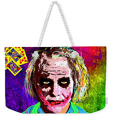 The Joker - Heath Ledger Weekender Tote Bag by Daniel Janda