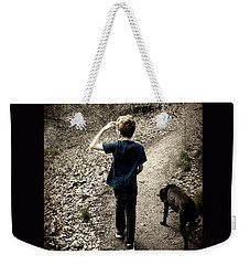 The Journey Together Weekender Tote Bag by Bruce Carpenter
