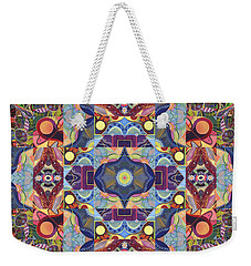 The Joy Of Design Mandala Series Puzzle 1 Arrangement 1 Weekender Tote Bag