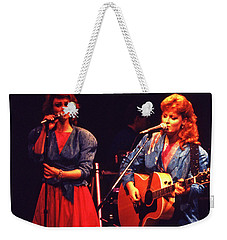 Weekender Tote Bag featuring the photograph The Judds by Mike Martin