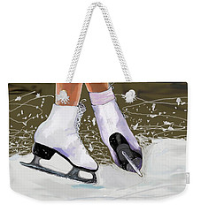 The Jump Weekender Tote Bag by Jeanne Fischer