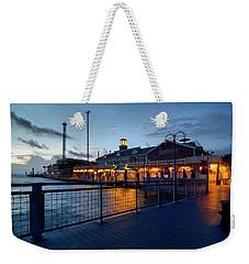 The Kemah Boardwalk Weekender Tote Bag by Linda Unger