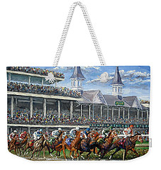 The Kentucky Derby - Churchill Downs Weekender Tote Bag