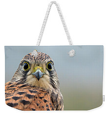 The Kestrel Face To Face Weekender Tote Bag by Torbjorn Swenelius