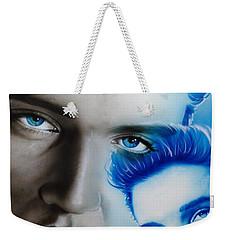 Elvis Presley - ' The King ' Weekender Tote Bag