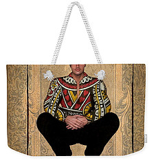 The King Of Hearts Weekender Tote Bag