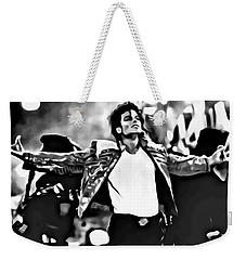 The King Of Pop Weekender Tote Bag