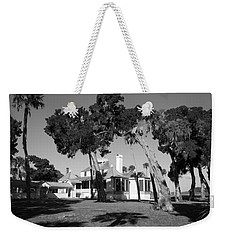 Weekender Tote Bag featuring the photograph The Kingsley Plantation by Lynn Palmer