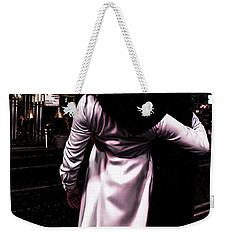 The Kiss In Times Square Weekender Tote Bag