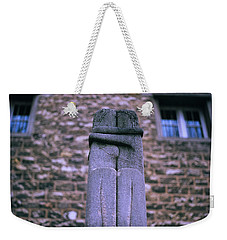 The Kiss Weekender Tote Bag by Shaun Higson