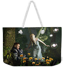 The Knight And The Faerie Weekender Tote Bag