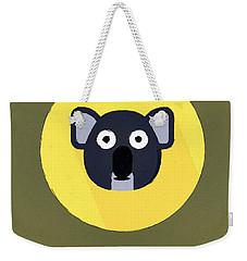 The Koala Cute Portrait Weekender Tote Bag by Florian Rodarte