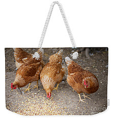 Weekender Tote Bag featuring the photograph The Ladies by Erika Weber