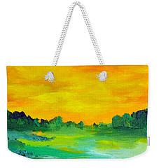 The  Lagoon Weekender Tote Bag