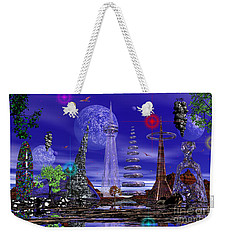 Weekender Tote Bag featuring the photograph The Lakes Of Zorg by Mark Blauhoefer