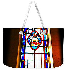 The Lamb Weekender Tote Bag by Becky Lupe