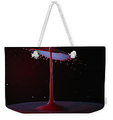 Weekender Tote Bag featuring the photograph The Lamp by Kevin Desrosiers