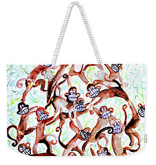 The Last Banana Weekender Tote Bag by Fabrizio Cassetta