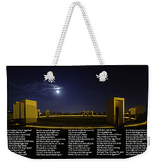 The Last Corps Trip Weekender Tote Bag