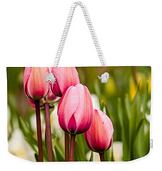 The Last Drops Of Dew Weekender Tote Bag by Melinda Ledsome