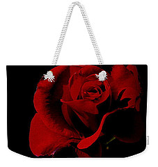 The Last Rose Of  Summer... Weekender Tote Bag by Marija Djedovic