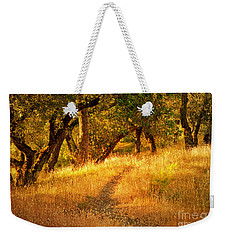 The Late Afternoon Walk Weekender Tote Bag by Roselynne Broussard