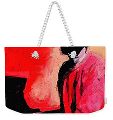 The Late Great Marvin Gaye Weekender Tote Bag