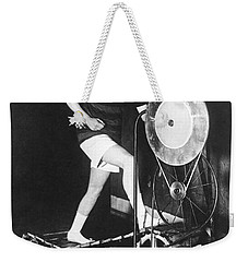 The Latest Exercise Machine Weekender Tote Bag