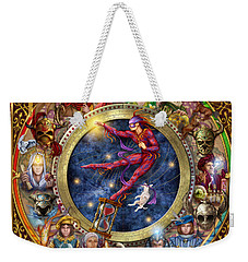 The Legacy Of The Devine Tarot Weekender Tote Bag by Ciro Marchetti
